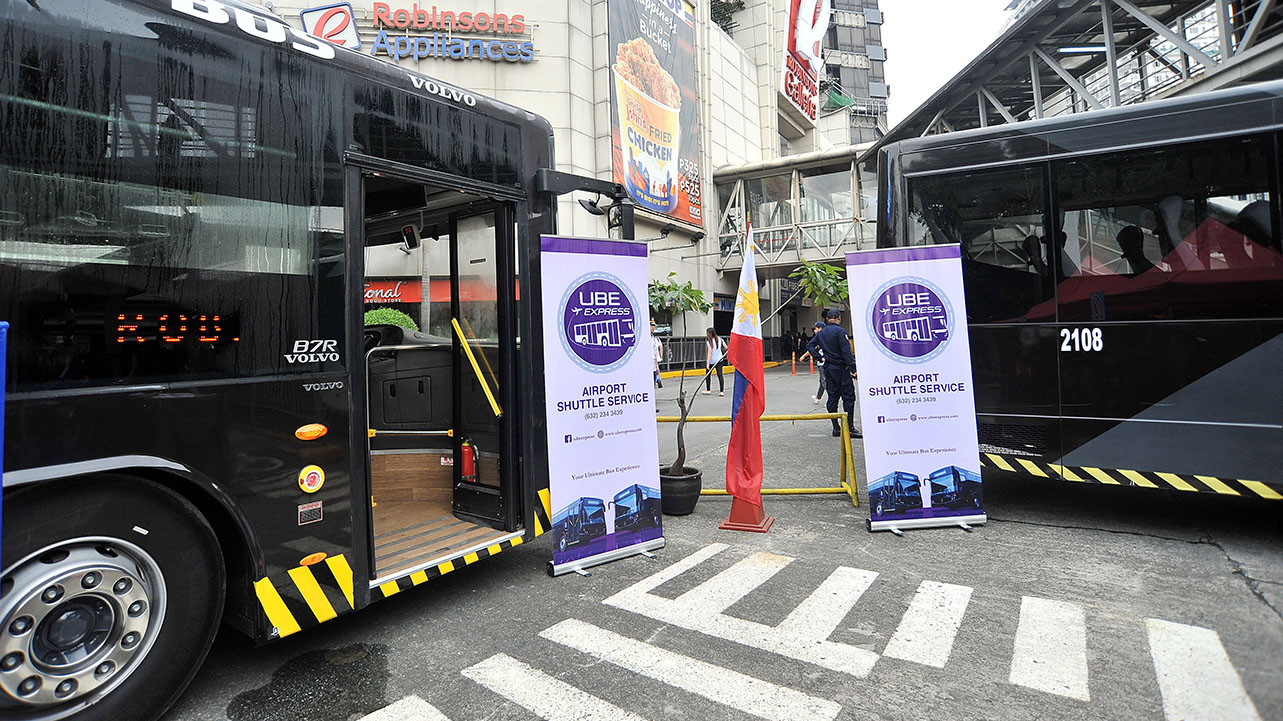Robinsons Malls and UBE Express Unveil a New P2P Service