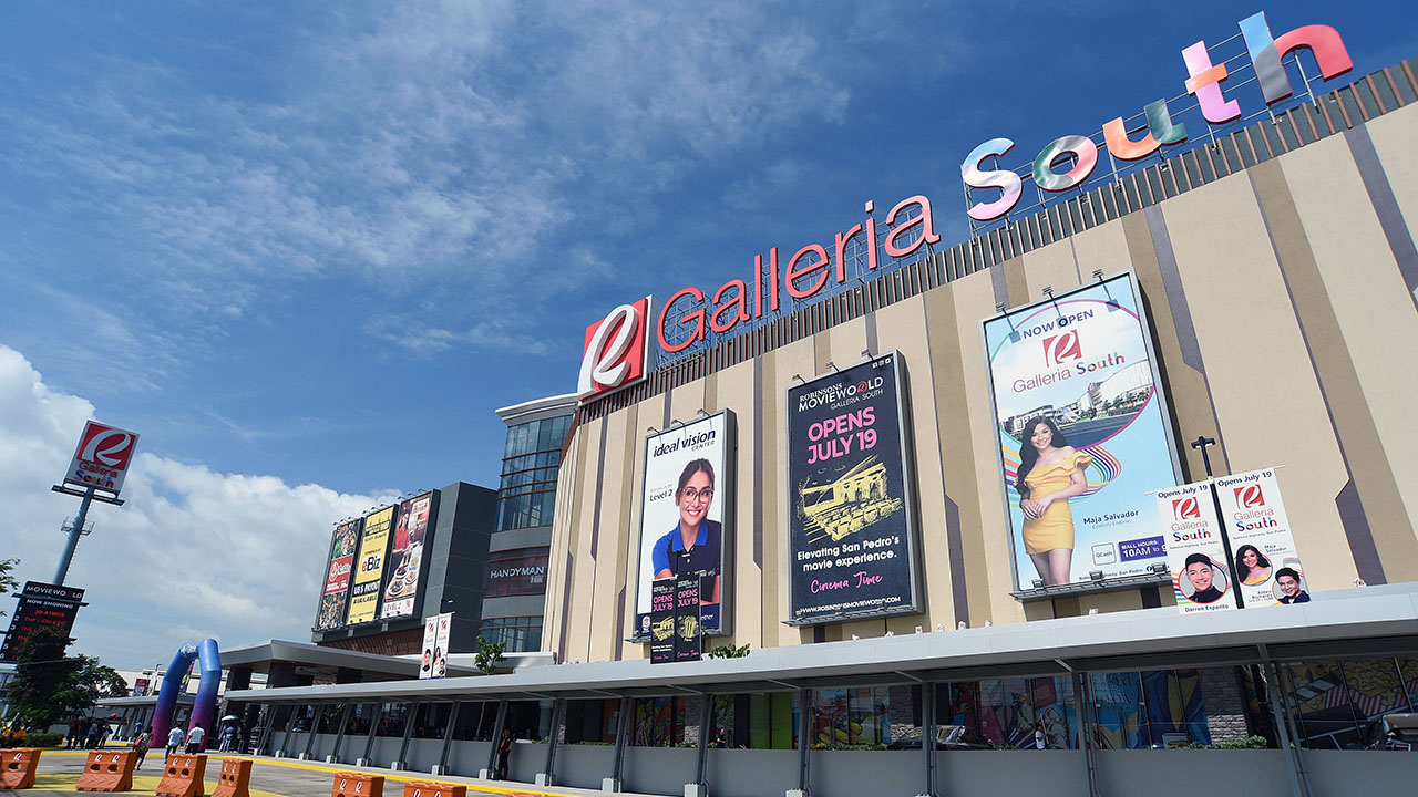 now open  robinsons galleria south